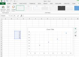 Excel X Y Scatter Chart Using More Than One Value Per Cell