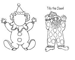 Clown 43 Personnages Coloriages Imprimer