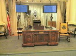 recreating oval office. JFK Presidential Library - Oval Office Recreating I
