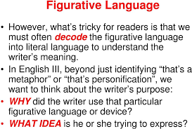 literal language figurative language and poetic devices pdf