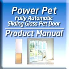 sliding door pet door french door dog door sliding door dog door fully automatic pet doors