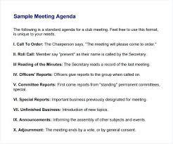 Meeting Agendas Templates 407424708749 Example Of Meeting Agenda