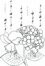 妖精 紫陽花イラストなら保健室小学校幼稚園向け保育園向けの