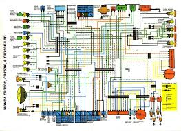simple motorcycle wiring diagram for 1971 Honda 750 Four Wiring Diagram Honda Shadow 750 Fuse Diagram
