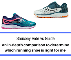 Saucony Pronation Chart Saucony Ride Vs Guide Detailing The Differences Train