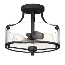 Kichler 38171 Distressed Wood Semi Flush Mount Light Lamps Lighting Ceiling Fans Distressed Black And Wood