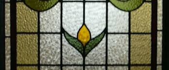 residential stained glass door panels