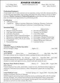 Examples Of Resumes Resume Sample Skills With Within Example 89