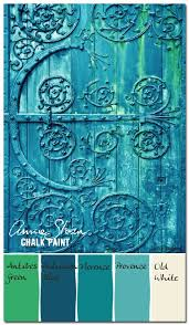 Annie Sloan Chalk Paint Mixing Chart Annie Sloan Blues Greens Colorways With Leslie Stocker
