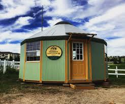 freedom yurt cabin puts you outdoors in style micro home small prefab home