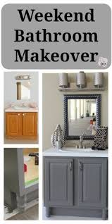 cheap bathroom makeover. bathroom updates you can do this weekend! cheap makeover
