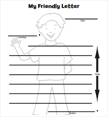 8+ Letter Format For Kids – Samples, Examples & Format | Sample ...