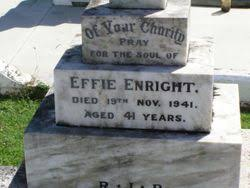 "Mary Ephraim ""Effie"" Walsh Enright (1900-1941) - Find A Grave Memorial"