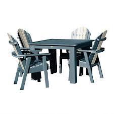 Highwood AD-DNA44-ODY Hamilton <b>5 Piece Dining</b> Set, Height ...