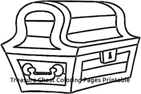 Top Rated Treasure Chest Coloring Page Pictures Treasure Chest For