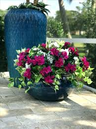 outor outdoor artificial flowers hanging baskets