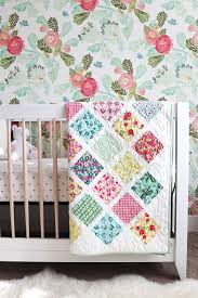 Baby Quilt Pattern Amazing Lattice Baby Quilt Tutorial