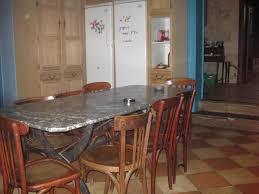 Idées Décoration Table Marbre Cuisine Ancienne Chainimage