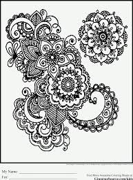 Small Picture Coloring Pages Free Abstract Coloring Page To Print Detailed