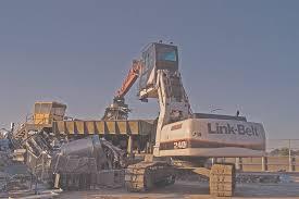 Lbx Company Link Belt 240 X2 Mh In Earthmoving Equipment