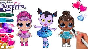 Fresh Vampirina Baby Nosy And Friends Lol Dolls Sugar Queen And