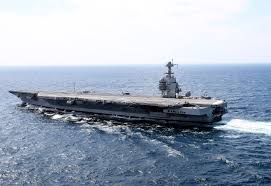 Image result for AIRCRAFT CARRIER GERALD FORD PHOTO