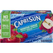 capri sun juice drink mounn cooler