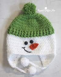 Hat Pattern Delectable Crochet Snowman Hat Repeat Crafter Me