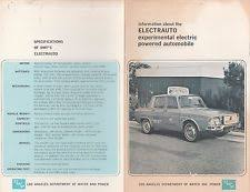 electrical in brochures catalogs 1965 electric auto brochure