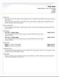 Beginner Resume Templates Resume Templates For Beginners Beginner