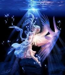 fairy under water