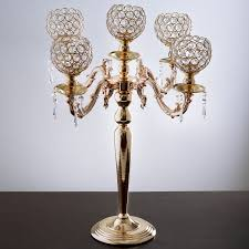 25 tall candelabra chandelier crystal votive candle holder wedding centerpiece 1 of 3free