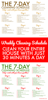 Weekly Household Cleaning Schedule Free Printable Weekly House Cleaning Schedule Viva Veltoro