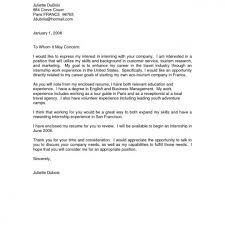 Sample Business Letter To Whom It May Concern The Letter Sample