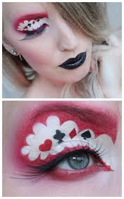diy inspiration queen of hearts makeup by sandra holmbom lots more photos and a