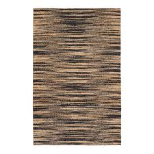 anji mountain xanthippe tan black 3 ft x 8 ft area rug
