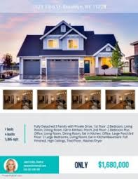 real state template customize free real estate flyers postermywall