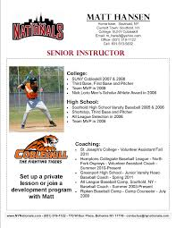 Awesome Baseball Coach Resume Photos Simple Resume Office