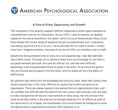 american phsycological association letter from dr norman anderson to members of the american