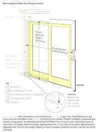 patio door sizes sliding door dimensions incredible standard sliding glass door width standard sliding door widths