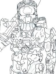 Master Chief Coloring Pages Halo Spartan Coloring Pages Halo Spartan