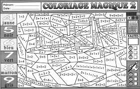 Dessins Coloriage Magique Imprimer Multiplication Difficile En