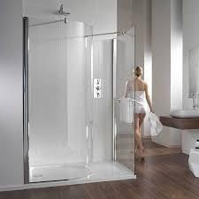 shower enclosures. Simple Enclosures Twyford Hydr8 Walk In Curve Shower Enclosure With Enclosures K