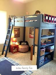 Kids Loft Bed Excellent Remodel Kids Room Loft Bed With Desk In The