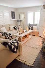cottage living rooms. Cozy Cottage Winter Living Room Decorating Ideas Rooms M