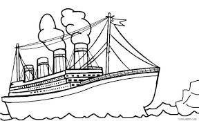 Disney Cruise Coloring Pages Cruise Ship Coloring Pages Titanic