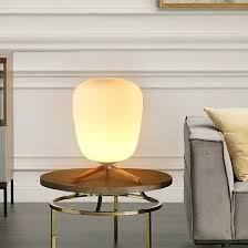 Shop <b>Modern Fashion</b> Frosted <b>Glass</b> Lampshade and Wooden ...