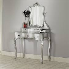 Small Vanity Table For Bedroom Carved Broken White Stained Wooden Vanity Table Dresser With
