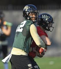 Wake Forest To Start Jamie Newman At Qb The Seattle Times