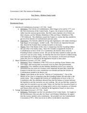 essay questions we the people isabel arredondo john  most popular documents for gov